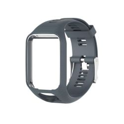Tomtom Watch Strap Runner 2 3 spark 2 3 Golfer Adventurer - Light Grey