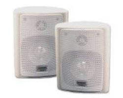 Goldwood Sound, Inc. Acoustic Audio 151W Indoor outdoor Speakers White 2