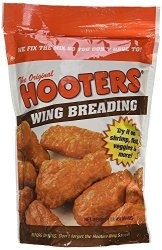 Hooter's Wing Breading Mix 16-OUNCE Pack Of 2