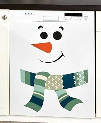 LTD Snowman Refrigerator Or Other Large Appliance Magnets Choose From Red Or Green Green Snowman