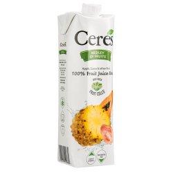 Ceres - 100% Fruit Juice Blend Medley Of Fruit Carton 1LTR