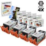 HP Ld Remanufactured Replacement For 920XL 920 CD975AN Black Ink Cartridges 4PK For Officejet 6000 6500 7000 & 7500A + Free 4X