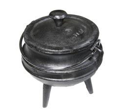 MINI Potjie Set - 6 X 1 4 Size Potjie Pots