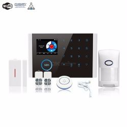 Wireless CS108 Wifi GSM Gprs Door Bell Smart Alarm System Switchable Home Safety Burglar App Rc With
