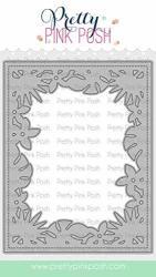 Pretty Pink Posh Craft Die Set - Tropical Frame