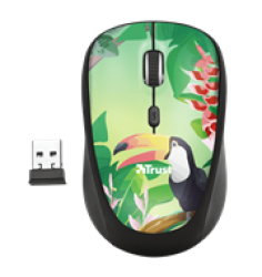 Yvi Toucan Wireless Mouse Retail Box 1 Year Limited Warranty