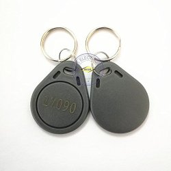 100 Pcs 26 Bit Proximity Key Fobs Weigand Prox Keyfobs Compatable With Isoprox 1386 1326 H10301 Format Readers. Works With The Vast Majority Of Access Control Systems