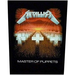 MaceMusic Metallica Master Of Puppets Giant Back Patch Official Licensed Product