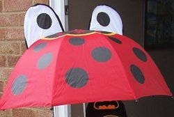 Holland Plastics UK Limited Simba 1 X Childrens Umbrella Cartoon Ladybird 48CM