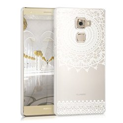 KW-Commerce Kwmobile Crystal Case For Huawei Mate S With Design Art Deco - Transparent Protection Case Cover Clear In White Tran