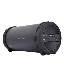 "Astrum SM300 Wireless Barrel Speaker 10W 3"" Bt Fm Tf Black"
