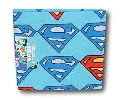 """Eugene Textiles Dc Comics Superman Fat Quarter 18"""" X 21"""""""