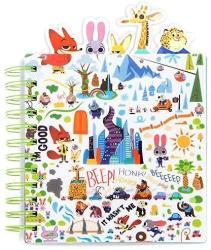 USA Disney Zootopia Zootopia Journal