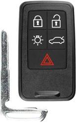 For 08-17 Volvo S Series V Series Xc Series Keyless Entry Remote Smart Key Fob 5BTN KR55WK49264 30659637 8676870