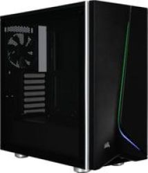 Corsair Carbide SPEC06 Tempered Glass Windowed Rgb Atx Mid-tower Chassis Black