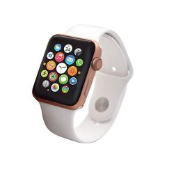 Renewed Apple Series 2 Smart Watch 38mm in Rose Gold & Pink Sand