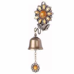 Anahbell Shopkeepers Door Bell Store Entry Door Chime Home Decoration - SUNFLOWER1 Bell Yellow