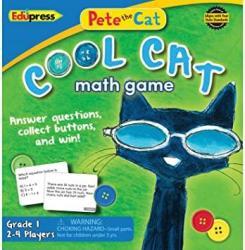 USA Pete The Cat Cool Cat Math Game Grade 1