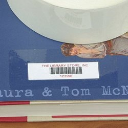 "The Library Store Dura-gloss Economy Bar Code Label Protectors 500 Per Roll 7 8"" H X 2 3 8"" W"