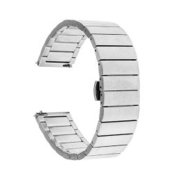 Butterfly Bracelet Band For Samsung S3 Frontier classic Watch - Silver