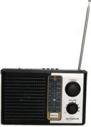 ULTRALINK Ultra-link Portable Retro Am fm Radio With MP3 Playback 0.5W