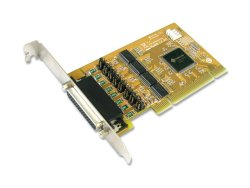 Sunix 4-PORT RS-232 High Speed Universal PCI Serial Board With Power Output