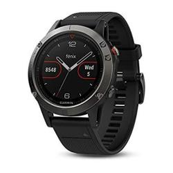 Garmin Fnix 5 Premium And Rugged Multisport Smartwatch Refurbished Slate Gray