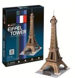 Cubic Fun Eiffel Tower France - 35 Piece 3D Puzzle
