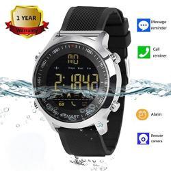 Smart Watch Waterproof Smartwatch Sports Smart Watches For Men Women Boys Kids Android Ios Iphone Samsung Huawei LG Blu Asus Motorola Zte With Pedomet