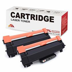 Mony Compatible BrOther TN760 TN730 Tn 760 730 Toner Cartridges 2 Black With Chip Used In HL-L2370DW MFC-L2710DW DCP-L2550DW HL-L2395DW HL-L2350DW MFC-L2750DWXL HL-L2390DW Laser
