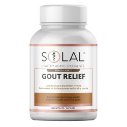 Solal Gout Relief 60 Caps
