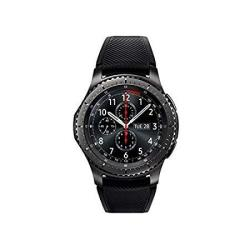 Samsung - Gear S3 Frontier Smartwatch 46MM - T-mobile 4G LTE Version Dark Grey SM-R765T Renewed