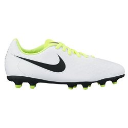 Nike Junior Magista Ola II Fg Football Boots 844204 Soccer Cleats UK 5 Us 5.5Y Eu 38 White Black Volt Pure Platinum 109