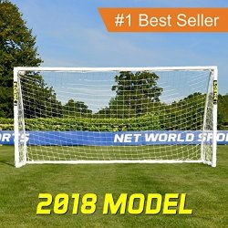 Net World Sports Forza Soccer Goal - The Ultimate Home Soccer Goal Leave These Soccer Goals Up In All Weather Conditions. Forza
