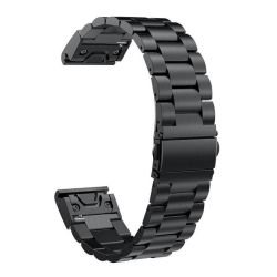 Stainless Steel 20MM Link Band For Garmin Fenix 5S - Silver
