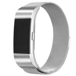 Zonabel Fitbit Charge 2 Milanese Strap - Silver Large | R299 00 | Travel  Accessories | PriceCheck SA