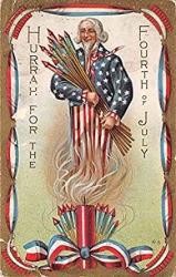 Uncle Sam Fourth Of July Usa Unused