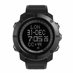 Hocol 50 M Waterproof Smart Watch Bluetooth Activity Tracker Fitness Tracker Fitness Watch Sports Watch Touch Screen Smartwatch-black
