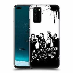 Official 5 Seconds Of Summer Fighters Group Photo Splatter Art Hard Back Case Compatible For Honor V30 Honor View 30