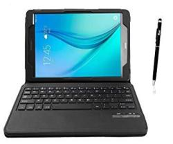 hot sale online 055e6 6b781 Samsung Galaxy Tab E 9.6 Keyboard Case Qwerty Kugi Samsung Galaxy Tab E 9.6  Case With Keyboard Ultra-slim Stand Case Cover With Magnetically Deta | R  ...