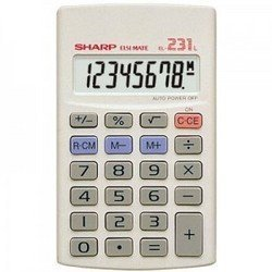 Sharp EL231L Pocket Calculator