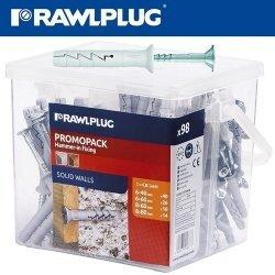 Rawlplug Nyl Hammer-in Fixing 6X40.6X60.8X60.8X80 X12-BAG Raw R-pfkt-fxmix