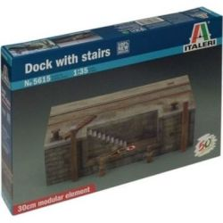 Italeri Dock With Stairs