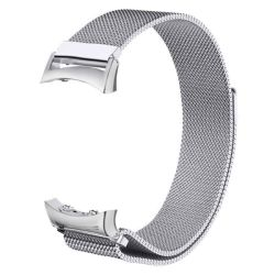 Milanese Band For Samsung Gear FIT2 Pro FIT2 Size: M l - Silver