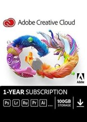 Adobe Creative Cloud - All Apps - 1 Year Subscription Key For Windows