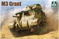 Takom TAK-2086 Model Kit British Medium Tank M3 Grant