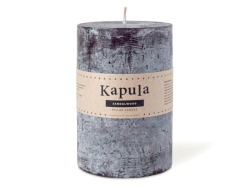 Sandalwood Frosted Pillar Candle 1.11L