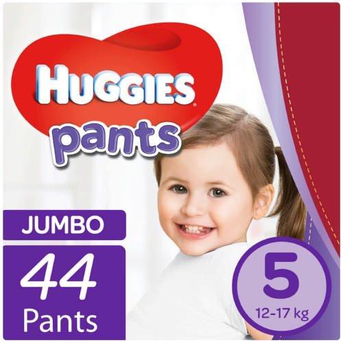 Huggies 44 Nappy Pants Size 5 Jumbo