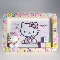 Carte Blanche Blue Nose Friends Hello Kitty Someone Special Frame