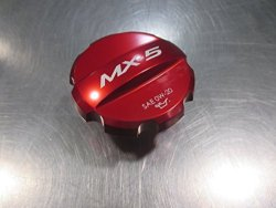 Mazda MX-5 Miata MX-5 2016-2017 New Oem Red Oil Filler Cap 0000-8M-D10